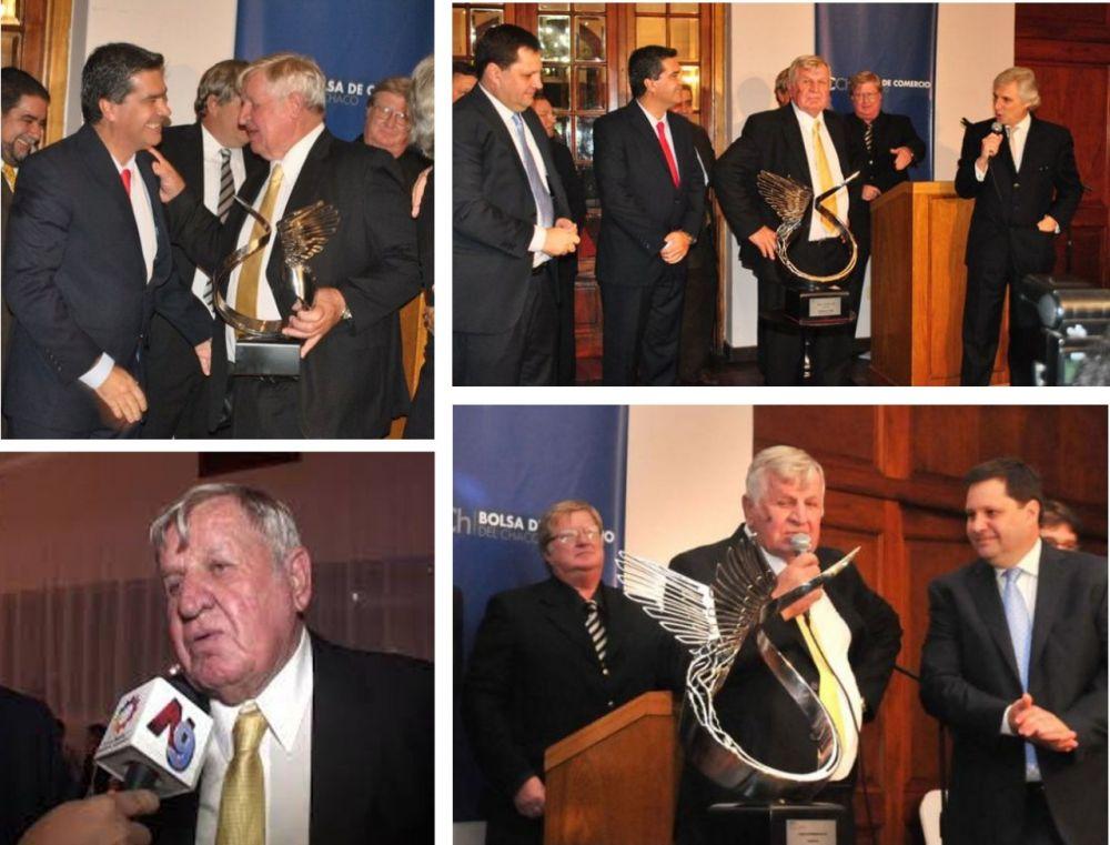 Don Guillermo Linke, distinguida y reconocida trayectoria empresarial